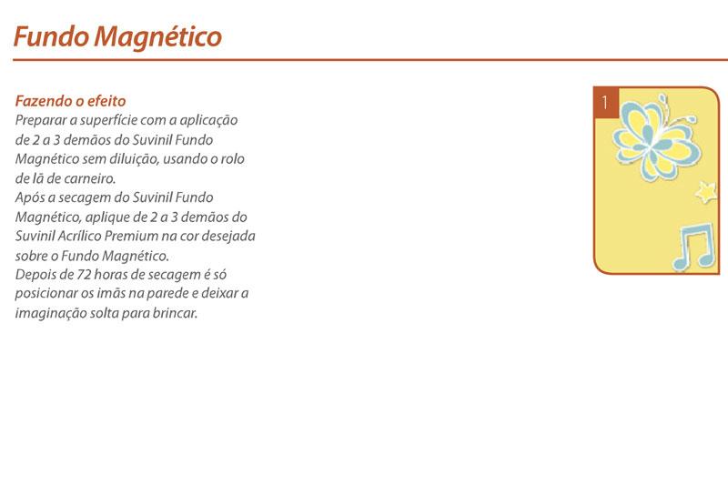 magneto Fundo Magnético